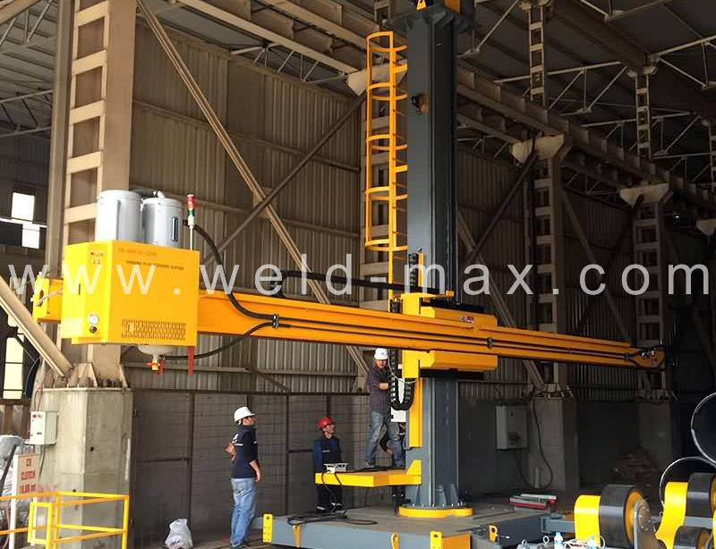 Well-designed 150Ton Channeling Welding Rotators -