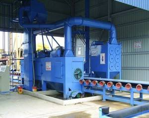 New Arrival China Continous Type Shot Blasting Machine/steel Structure H Beam