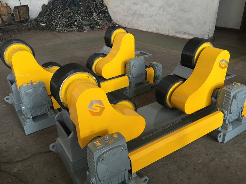 Hot-selling Pu Wheels Hydraulic Welding Rotators -