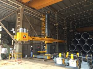 Longitudinal Seam Welding Manipulator (Submerged Arc Welding)