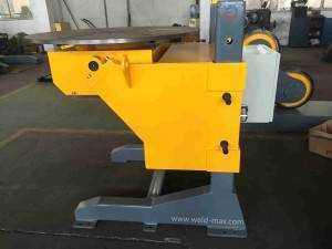 EHBJ-50 Auto Ppie  Longitudinal  Turntable Welding Positioner With max Ф1500mm Turning Distance