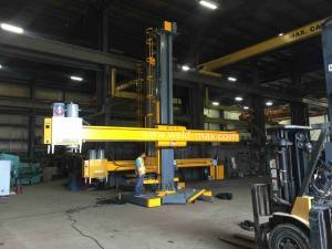 LH3040 Fixed Welding Column And Boom With Cross Sides And Seam Tracker