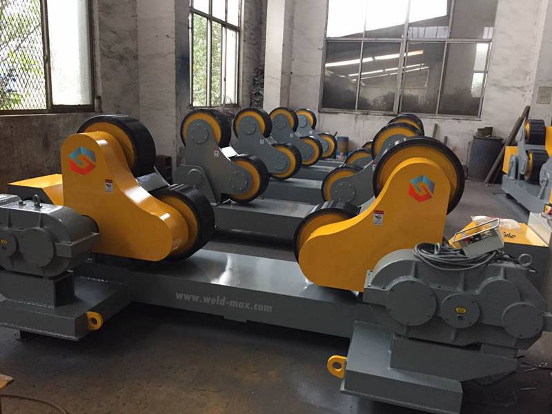 Hot Selling for 150ton Fit-Up Pipe Growing Line -