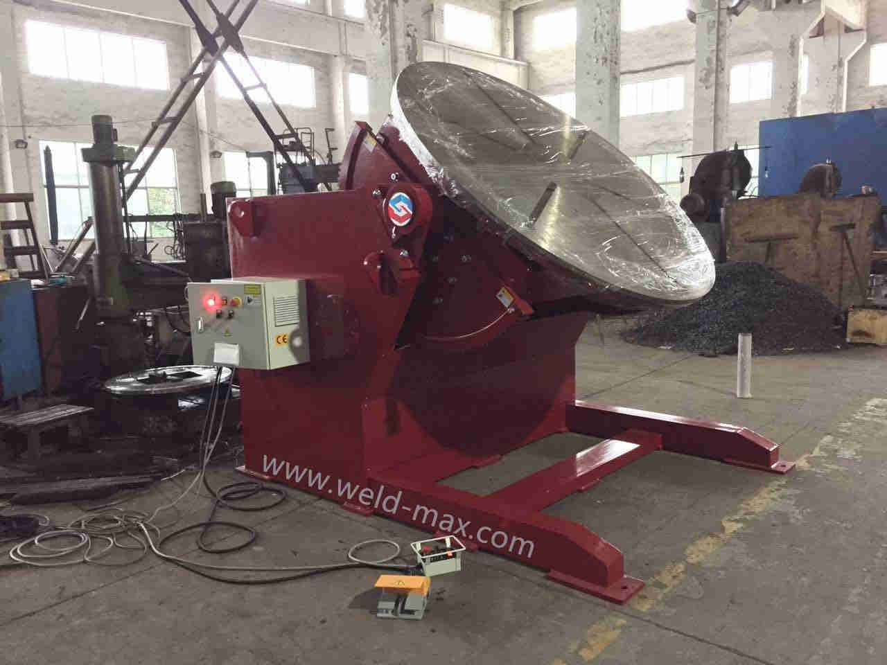 Best quality 60ton Lead Screw Welding Rotators -