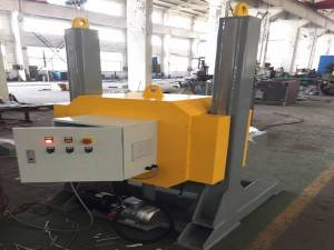Auto Servo Motor CNC L-Type Welding Positioner With Chuck For Accurate Welding