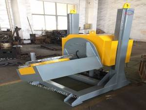 5T Yellow  Fixed L-Type Elevating Welding Positioner With Φ1000mm Table