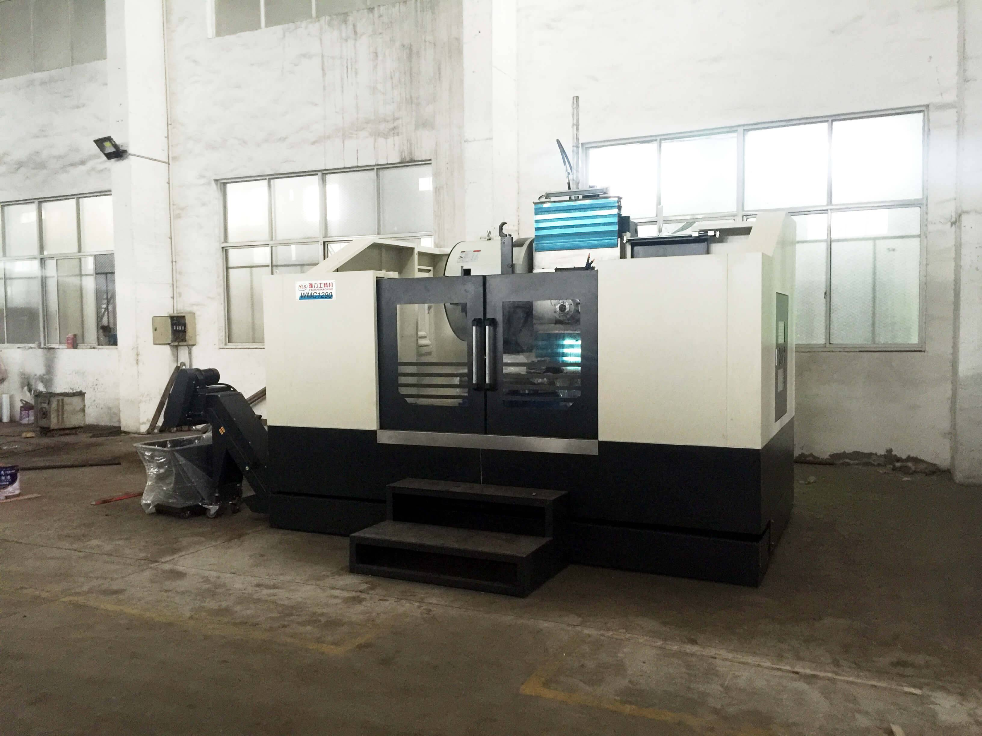 Add one new CNC machining center in our new shop