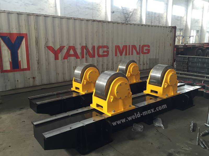New Shipment to United States-200Ton Turning Rolls