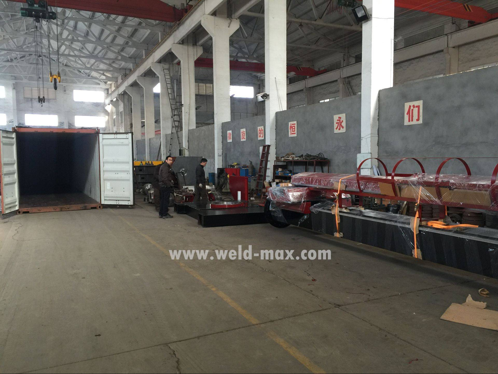 New Shipment for 5×5 Welding Manipulator to Thailand