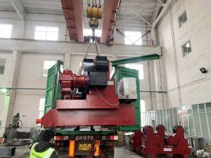 100T Self-aligned Welding Rotator ship to ARCELORMITTAL