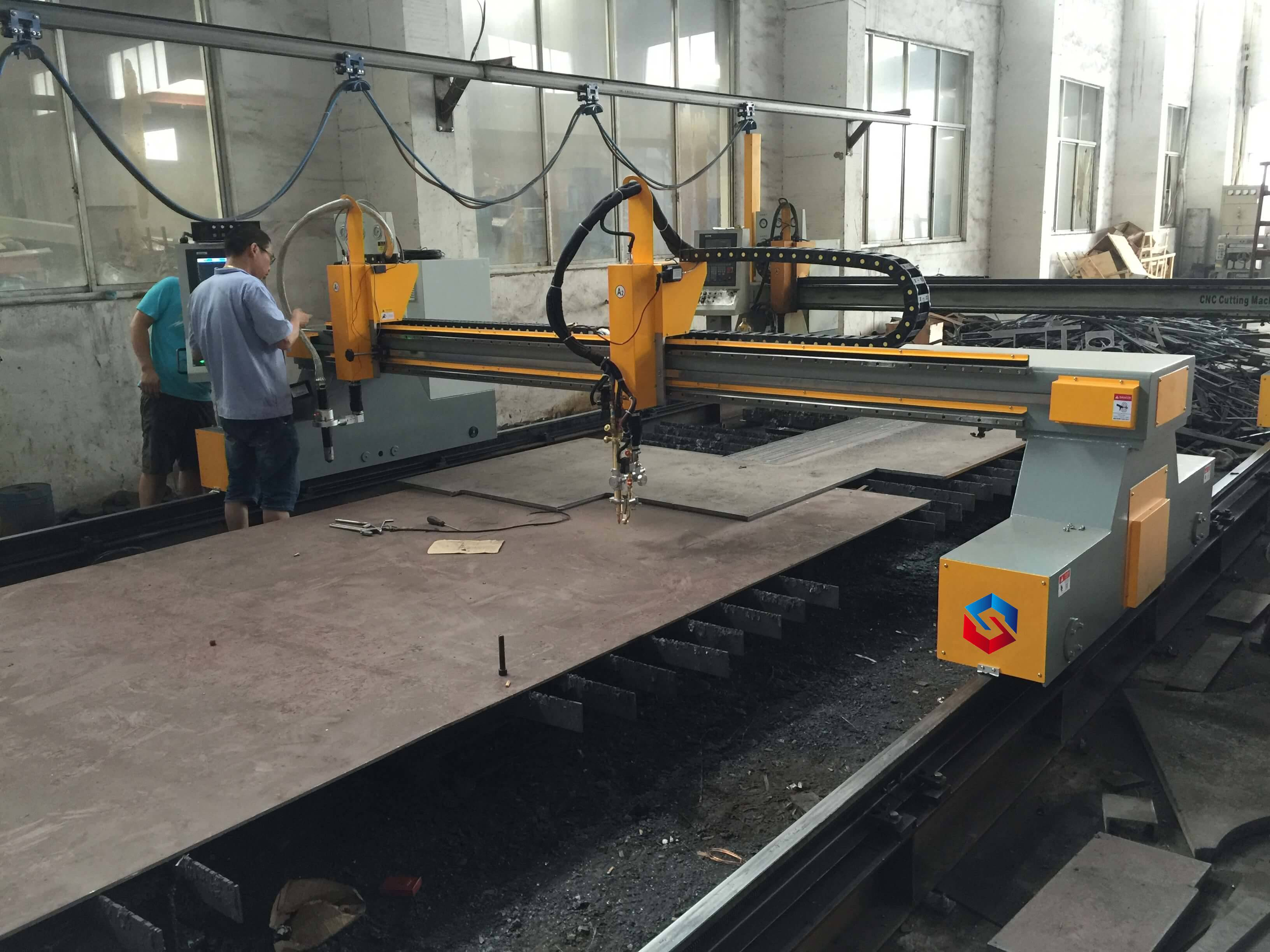 OEM/ODM Supplier Heavy Duty Cnc Definition Flame Cutting Controller System Plasma Cutting Machine Featured Image
