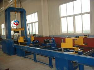 H-beam Assembling Machine (MIG Welding)