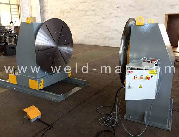 Quality Inspection for Metal Wheels Pipe Welding Rotators -