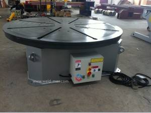 5T Vertical Standard Hydraulic Pipe Welding Turning Table With 3JAWS Chuck