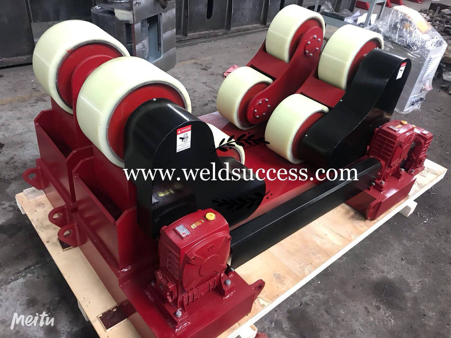 20Ton Self Aligning Welding Rollers to Australia