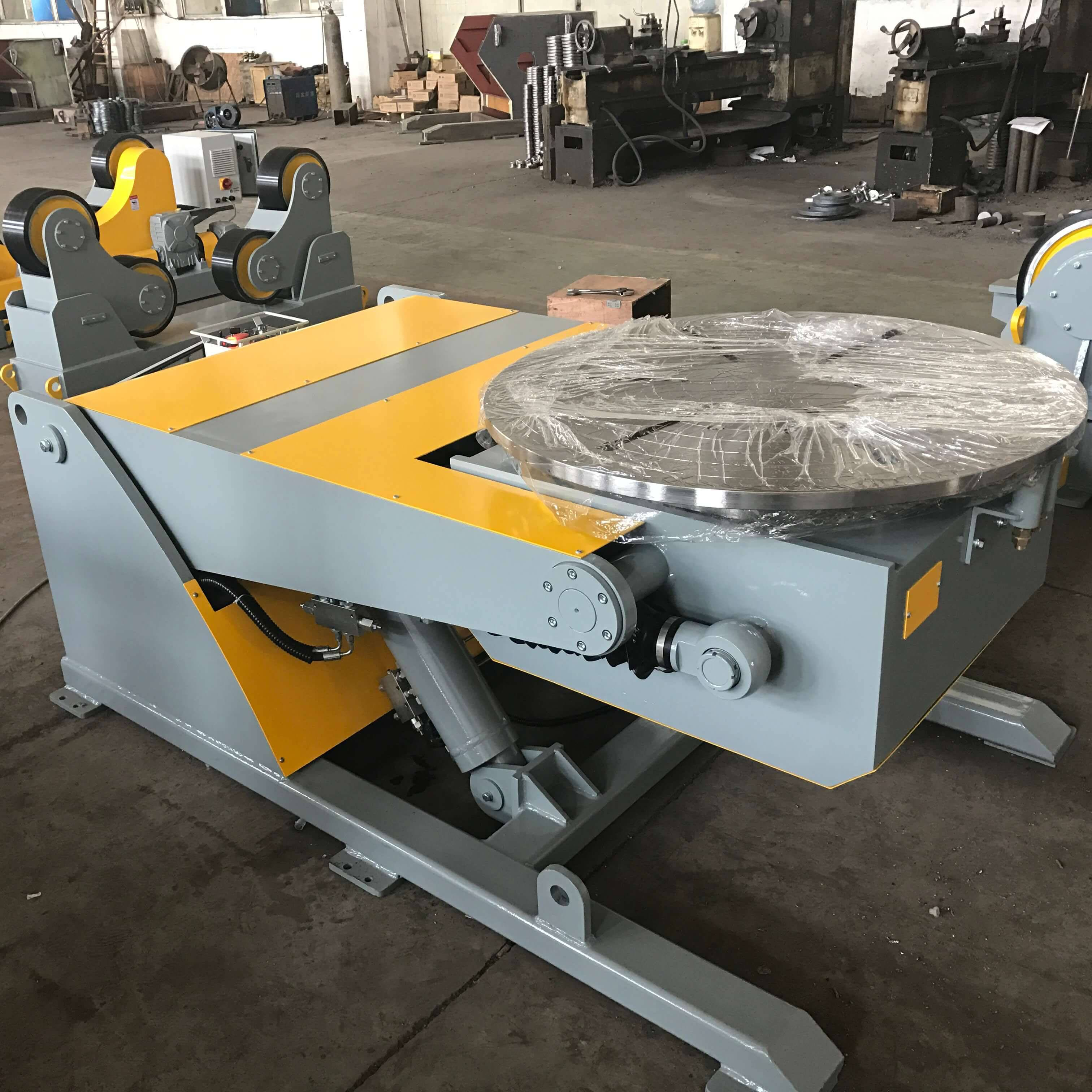 2000kg 3 axis hydraulic positioner Featured duab