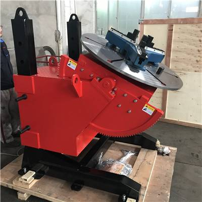 Australia order of 1Ton welding positioner with 3 jaw chuck