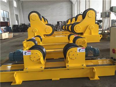 Turkey order for 80T self aligning welding rotators