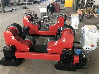 Mexico order for 20 Tons self aligning welding rotators