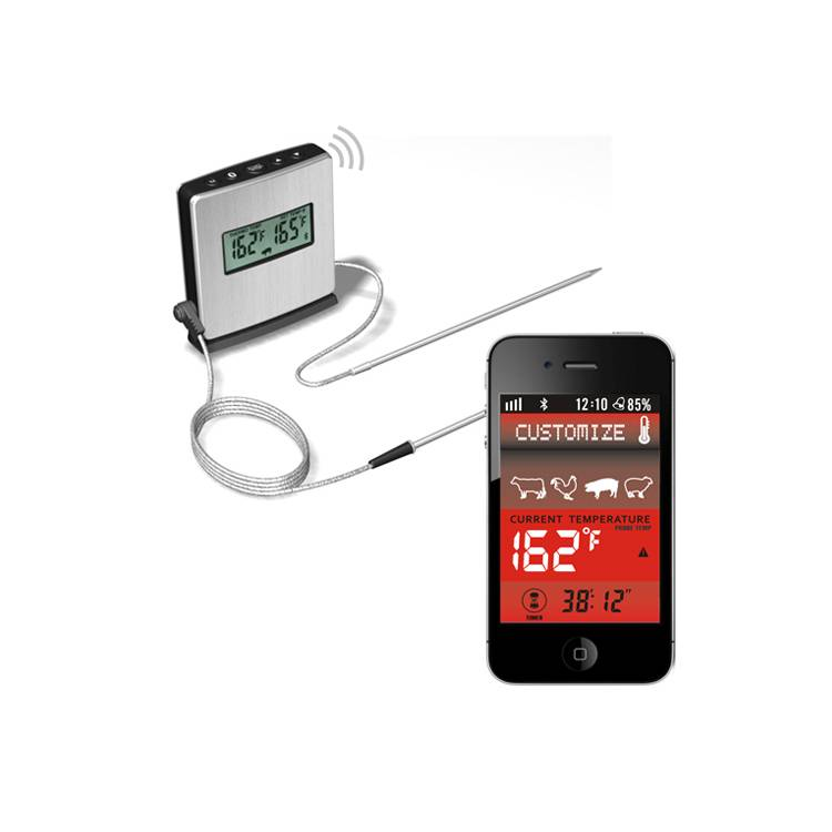 China wholesale Wireless Meat Thermometer -