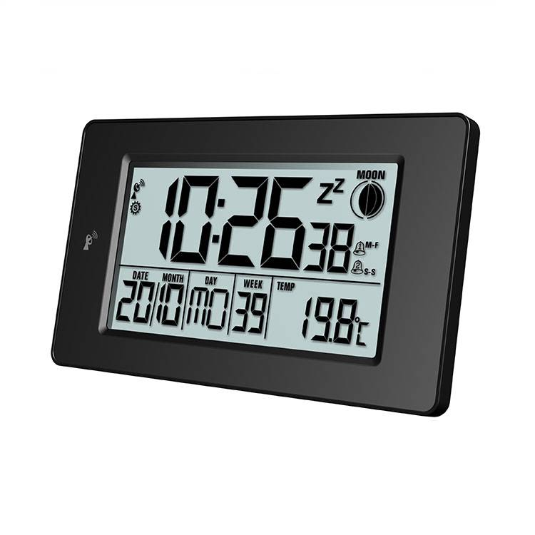 100% Original Rcc Clock With Projection -