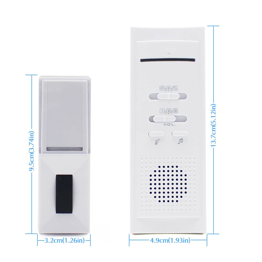 Manufacturer for 433 Mhz Wireless Doorbell -