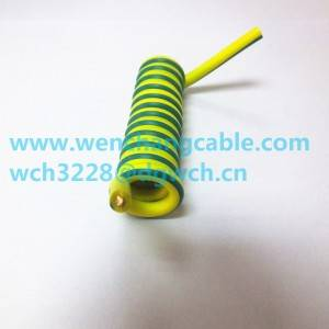 UL20948 Spiral Cable Coiled Cable Telephone Cable Spring Cable