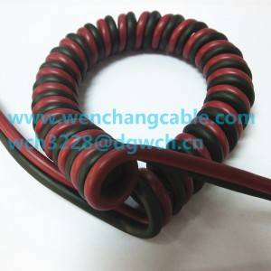 UL21120 Customed Cable Spiral Cable Curly Cable