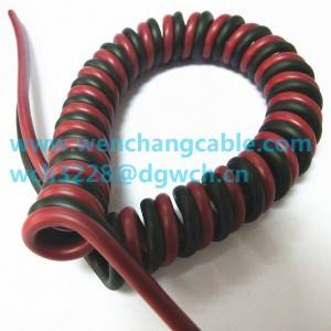 UL21126 PUR Cable TPU Cable Elastic Cable Spiral Cable Coiled Cable Curly Cable
