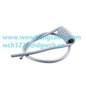 UL21285 UL Cable Jacketed Cable Spiral Cable Coiled Cable Multicore Cable