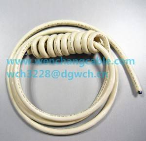 UL21322 PUR Jacketed Cable Spiral Cable Curly Cable Multi-conductor Cable Trailer Cable