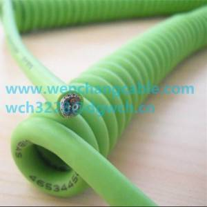 UL21573 Spiral Cable Coiled Cable Curly Cable Elastic Cable Telephone Cable