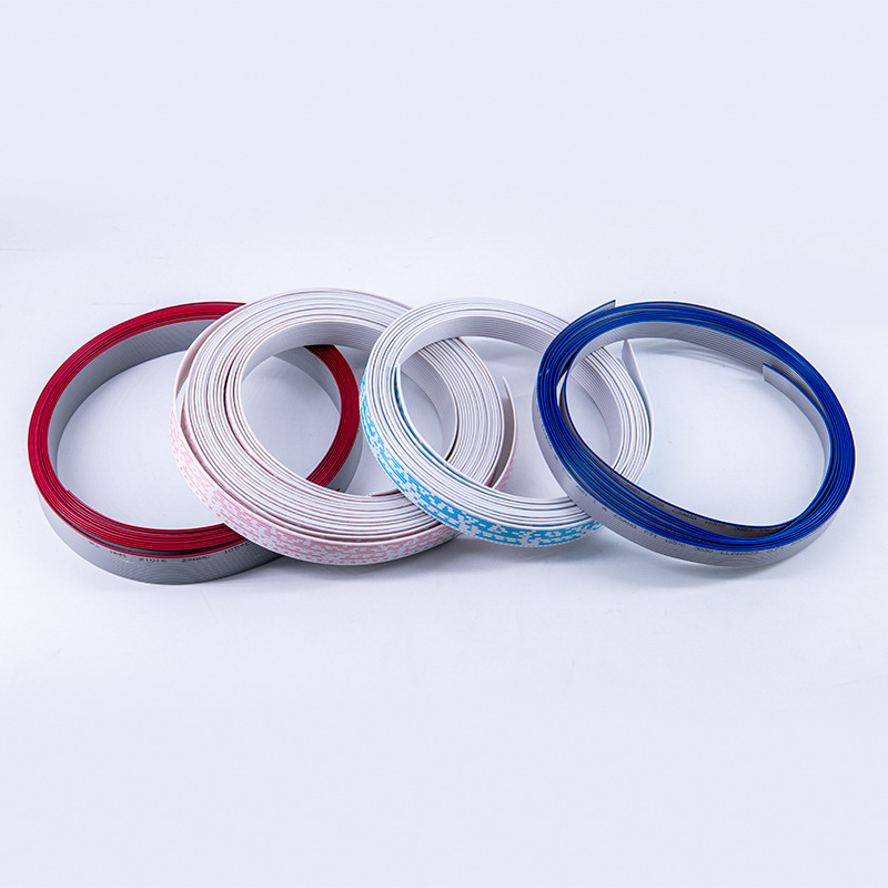 UL2468 Flat Cable Colour Red-white, Blue-white