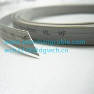 UL4411 XL-PE Flat Cable LSZH Cable computer Flat Cable XLPE Cable Halogen free