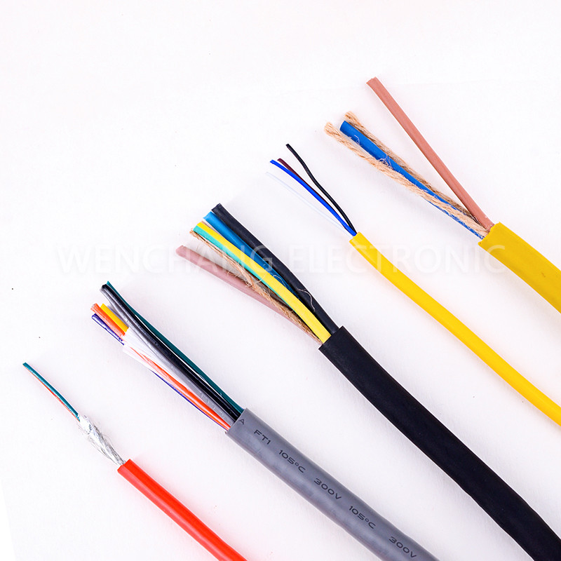 UL21143 Heat Resistance Alarm Cable Jacketed Cable Multicore Cable
