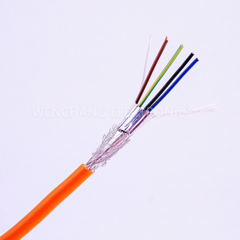 UL21308 Electrical Cable Multicore Cable Jacketed Cable with Shielding Al Foil Braided