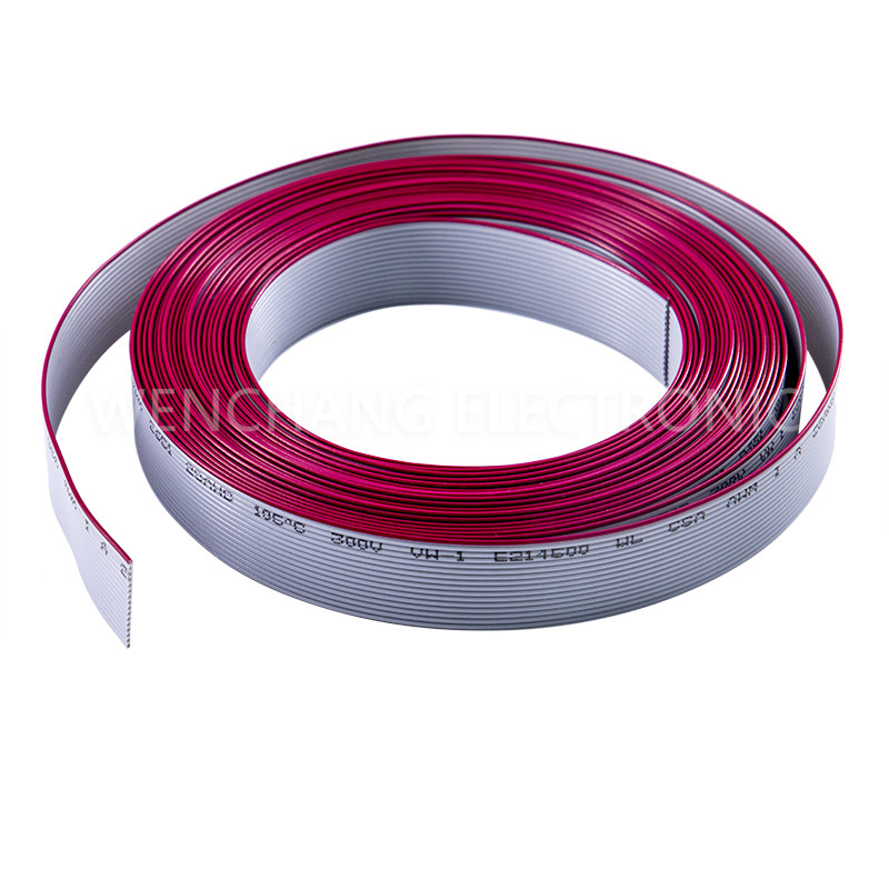 UL21016 XL-PE Flat Cable XLPE Flat Ribbon Cable LSZH Halogen free Featured Image