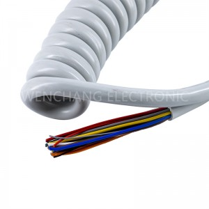 UL21765 TPU Cable With Shielding 105C 300V for External Interconnect of Appliances