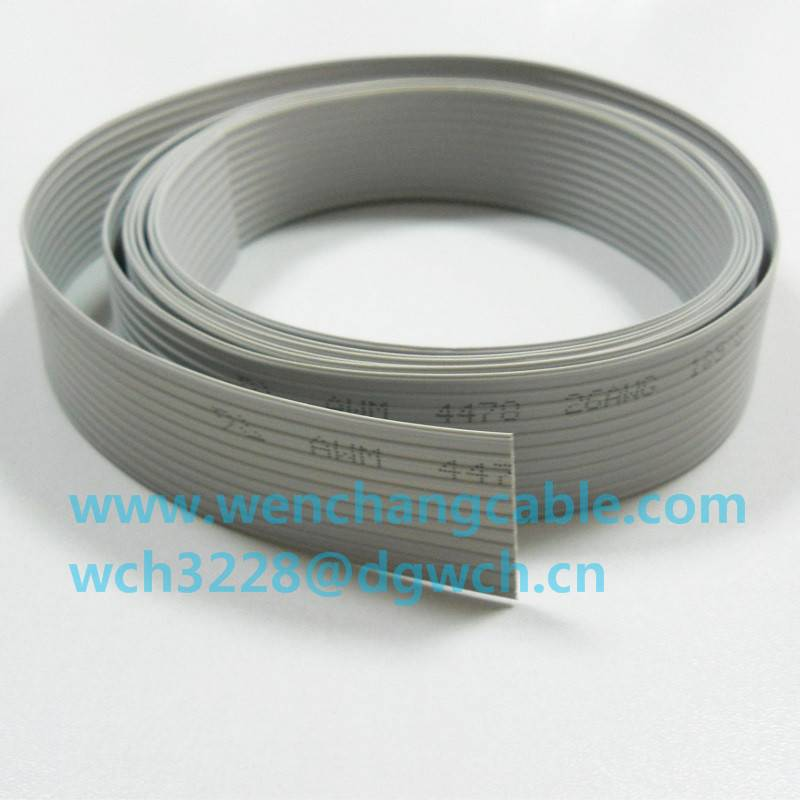 UL4478 LSZH XL-PE Flat Cable XLPE Flat Ribbon Cable Halogen free Featured Image