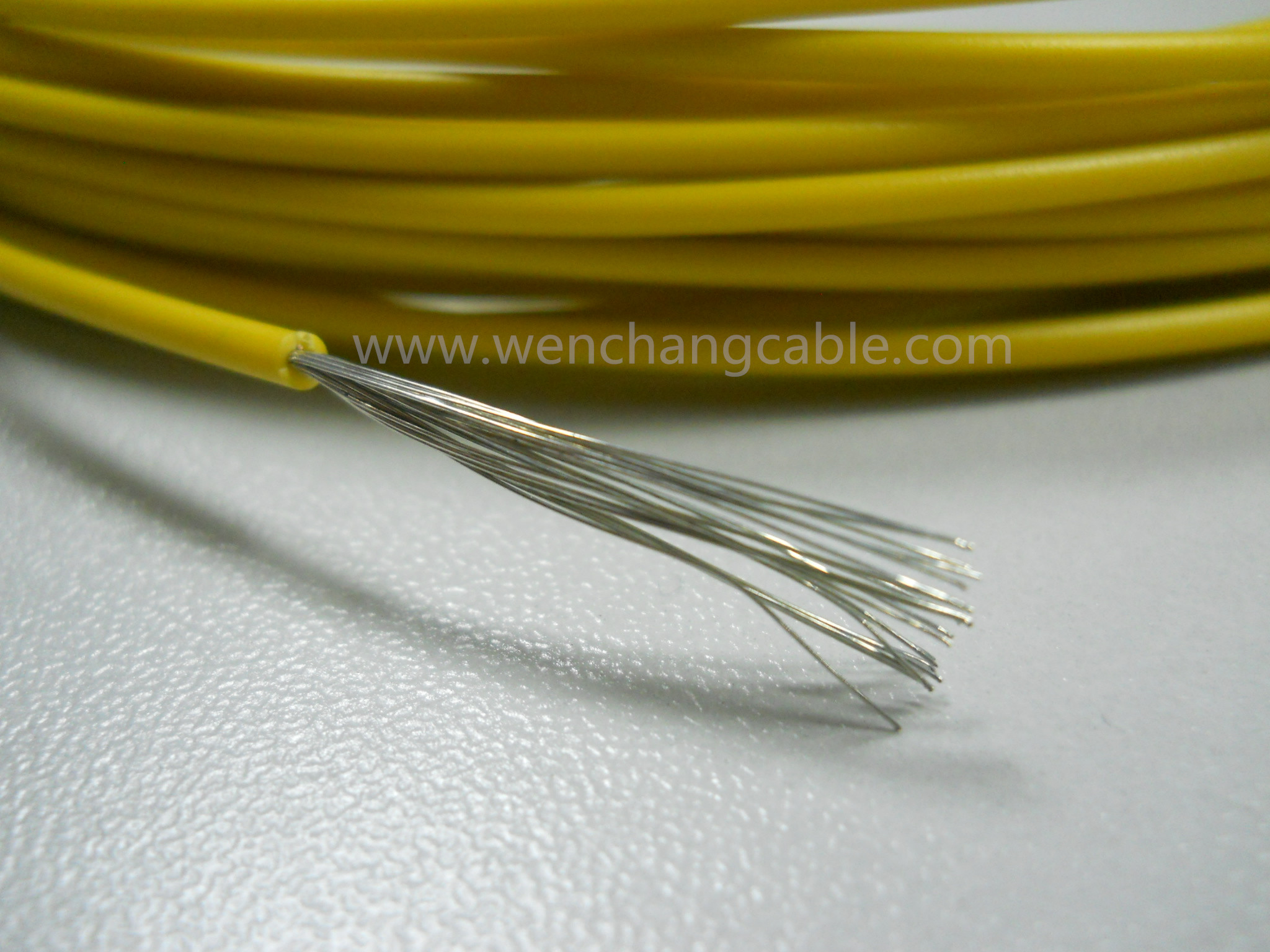 The Relationship between teflon wire quality and sheath thickness