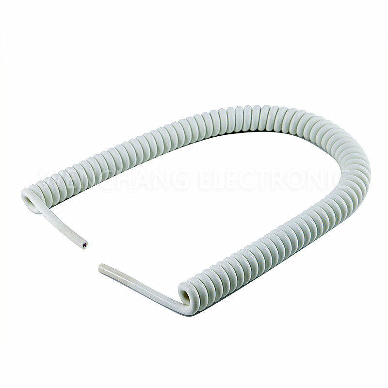 UL21294 TPU Spiral Curly Cable Coiled Cable Spring Cable Featured Image