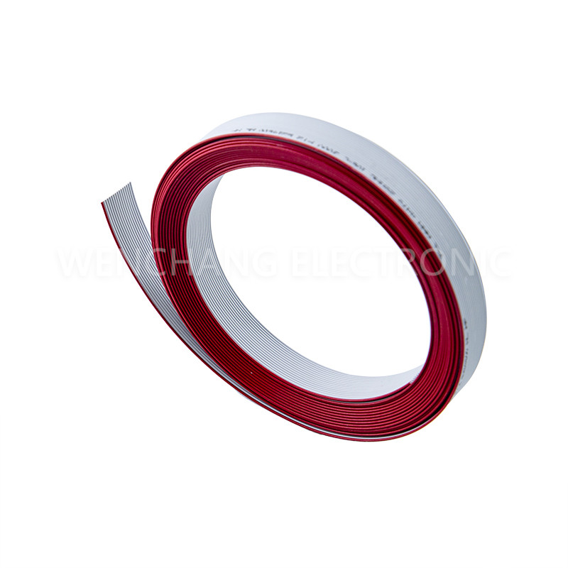 UL21016 XL-PE Flat Cable XLPE Flat Ribbon Cable LSZH Halogen free