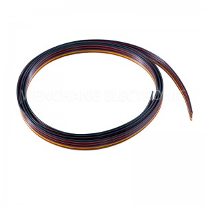 UL1061 Rainbow Cable Electrical Cable Oil Resistant
