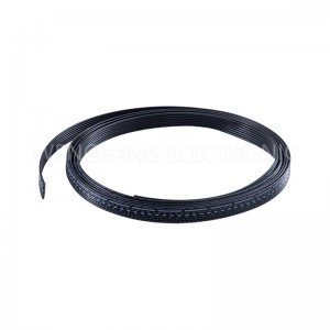 UL2468 Flat Cable Color Preto-branco