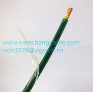 UL1010 Annealed, Stranded or Solid copper conductor Hook-up Wire Electric Wire