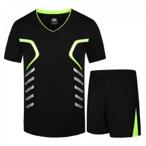 Men Sports Set Two Pieces Summer Quick Dry Plus Size Fitness Factory