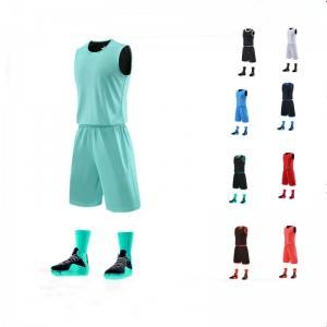 Tank Top and Shorts Set Sport Men Summer Dry Fit Fitness Basketball Uniform Custom