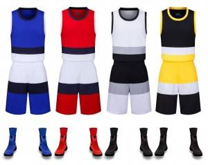 Basketball Wear Uniforms Plus Size Sport Sleeveless Summer OEM Factory