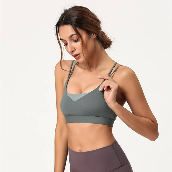 Wholesale Price Sports Bra Plus Size Pocket -