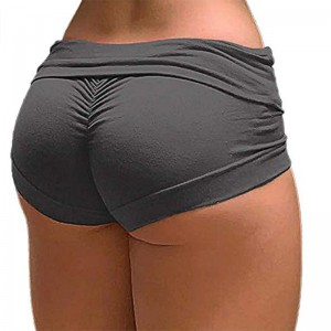 Seamless Yoga Shorts For Women Sexy Tights Compression